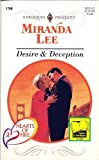 Desire and Deception, Miranda Lee, 0373117604