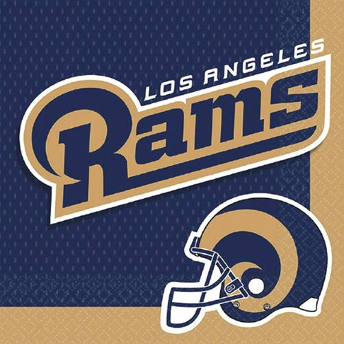 NFL Los Angeles Rams Lunch Napkins (16ct)