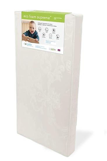 Colchon Para Cuna Infantil Y De Bebe Resistente Al Agua 52L x 27 W x 6H Crib