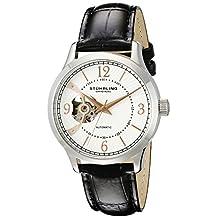 Stuhrling Original Men's 987.01 Legacy Analog Display Automatic Self Wind Black Watch