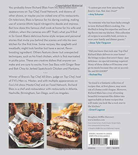 So good 100 recipes from my kitchen to yours richard blais so good 100 recipes from my kitchen to yours richard blais 9780544663312 amazon books forumfinder Image collections