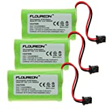 Floureon 3x Ni-mh Cordless Phone Batteries for Uniden Bt-1007, Office Central