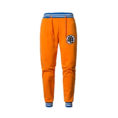 Image Unavailable. Image not available for. Color  Men Anime Sweat Dragon  Ball Pocket Harem Goku Workout Sportswear Pants 31e0c2d9bcd8
