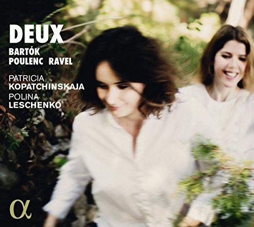 CD : PATRICIA KOPATCHINSKAJA - POLINA LESCHENKO - Deux (CD)