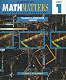 Math Matters Bk. 1 : Copyright Update, Lynch, Michael, 0538639539