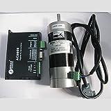 Leadshine 180W Brushless Servo DC Motor+Drive Kits 57BL180D-1000+ACS606 Brushless Controller 36V Circular Flange 82ozin 0.57NM