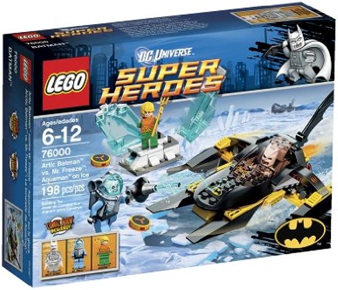 LEGO Superheroes 76000 בטמן נגד פריז בקרח