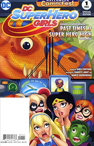 DC Super Hero Girls Holiday Special #2017 VF/NM ; DC comic book]()
