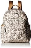 Calvin Klein Tanya Nylon Backpack, Alm/Khk Combo