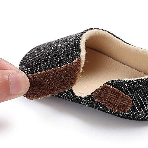 Bebé Los Zapatos De Recien Blanda Suela Cuero Chica Chico Patucos Nacido Casuales Gusspower Del Oscuro Niño Bebe Gris Suave tdwxzgp8q