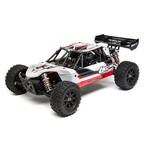 - Losi Mini 8Ight 1/14 Scale Rc Db Desert Buggy RTR with 2.4Ghz Radio Tx | SRX200 2-Ch RX | Waterproof Bl 25A ESC | 7.2V 1200mAh NiMH Battery | Battery Charger, LOS01009T1 (White)