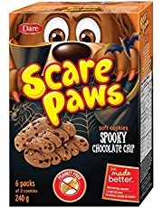 Dare Scare Paws Cookies Spooky Chocolate Chip, 240g/8.5oz