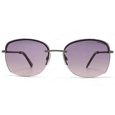 b6d9ea510a2 Image Unavailable. Image not available for. Colour  Karen Millen Rimless  Sunglasses ...