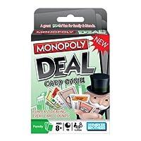 Juego de cartas de reparto Monopoly
