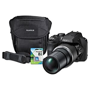 Fuji® Finepix Sl1000 Digital Camera Bundle, 16Mp, 50X Optical Zoom, 100X Digital Zoom