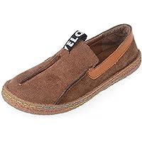 Mary Walking Travel Loafers conducción movimientos Plataforma Jefe Amplia Flats Zapatos Slip-On Casual de la mujer de la Niña