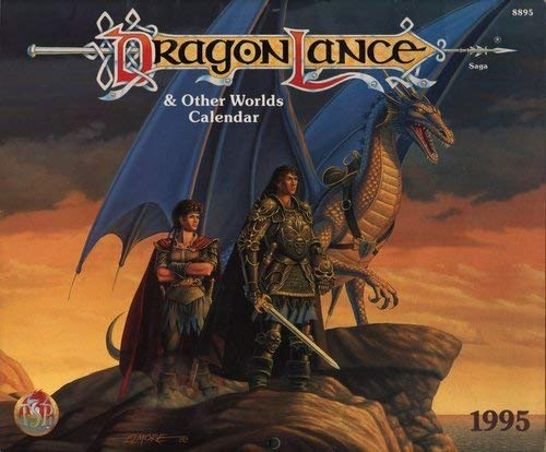 1995 Dragonlance and Other Worlds Calendar