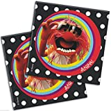 Pack of 20 the Muppets Luncheon Napkins 33x33cm