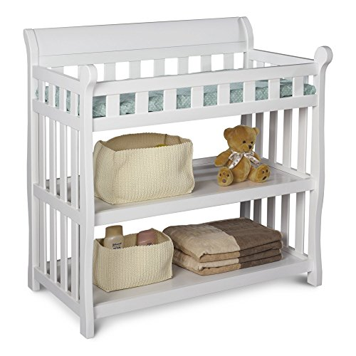 Delta Children Eclipse Changing Table, White (Baby Changing White Table)