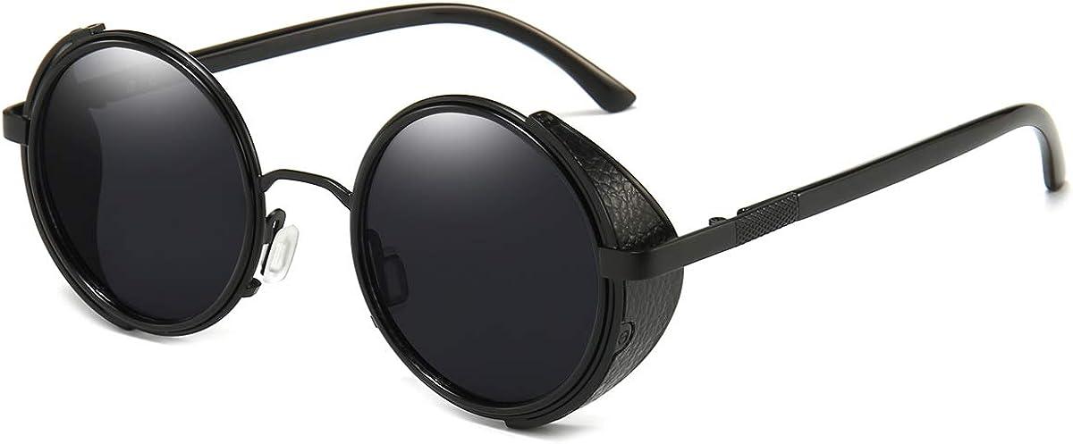 Vintage Retro Sunglasses Keyhole Frame Round Lens Hipster Depp Style 596 QUALITY