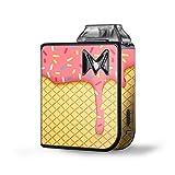 vape cone - Skin Decal Vinyl Wrap for SV Mi-Pod kit Vape skins stickers cover / Ice Cream Cone Pink Sprinkles