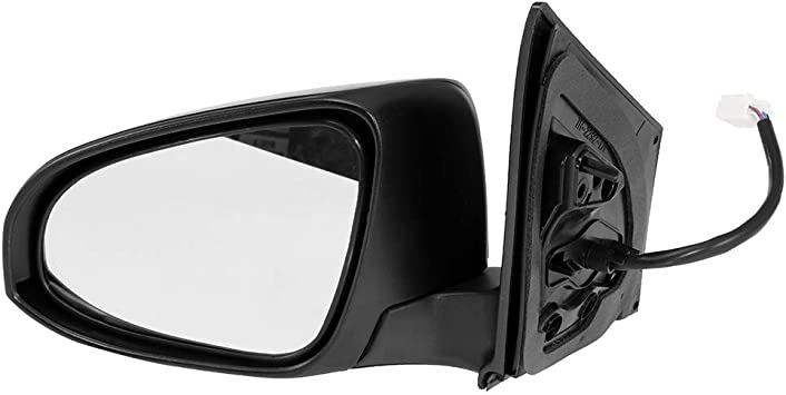 SCITOO Side View Mirror Driver Side Mirror Compatible with 2017 2018 Toyota Corolla iM 2016 Scion iM Power Adjustment Power Folding Turn Signal Heated