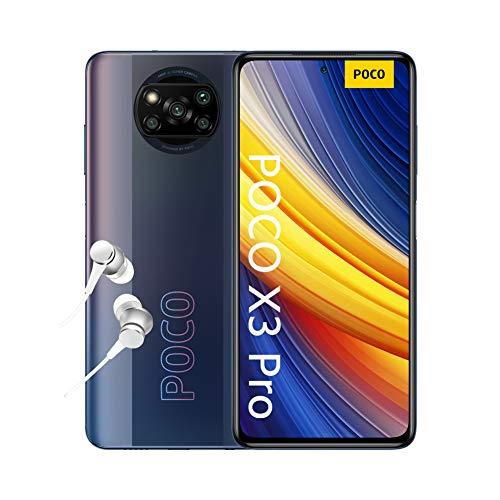 "POCO X3 Pro - Smartphone 6+128 GB, 6,67"" 120Hz FHD+DotDisplay, Snapdragon 860, Cámara Cuádruple de 48 MP, 5160 mAh…"