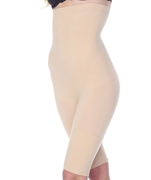 d3bd25c0f La Reve Tummy Control Shapewear for Women - High Waist Thigh Slimmer Body  Shaper