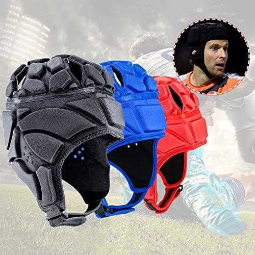 Hongma Rugby Kopfbedeckung Baseball Helm S//M//L//XL Rot Blau Schwarz f/ür Sport Schutz MEHRWEG