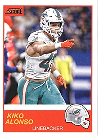save off c15cd a42ca Amazon.com: 2019 Score Football #137 Kiko Alonso Miami ...