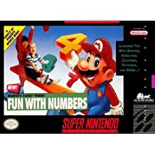 Mario's Early Years: Fun with Numbers - Nintendo Super NES