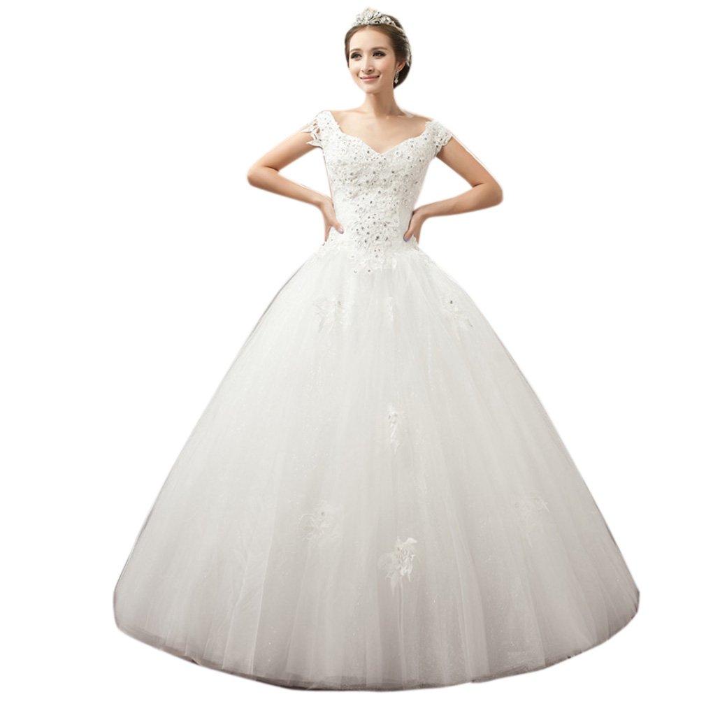 62d57ed603 Cheap V Neck Wedding Dress Uk