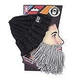 Beard Head - The Original Barbarian Vagabond Knit Beard Hat (Grey)