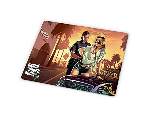 Price comparison product image DLLM Online Multiplayer GTA Video Game Anti-Slip Gaming Computer Mouse Pad Mat - DMMGS05