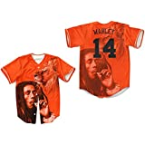 borizcustoms Bob Marley Revolution Lion Portrait Baseball Jersey Dye Sub Rasta Smoke
