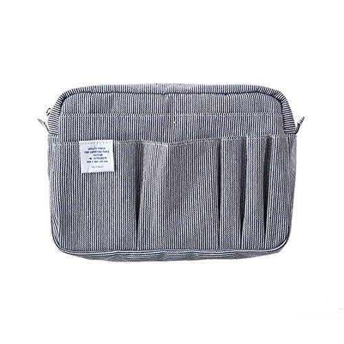 [DELFONICS] Inner Carrying Bag Multi Pouch Case Bag In Bag Size M 500094 A by Delfonics