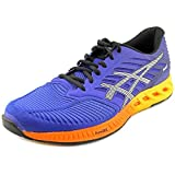 ASICS Men's fuzeX Running Shoe,Asics Blue/Indigo Blue/Hot Orange,11 M US