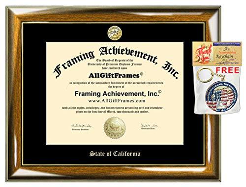 AllGiftFrames Licensing State Board Association Document Case PE Certificate Holder Frame Training Professional Framing Elegant Engineer Engineering Custom Emboss Engrave Gift