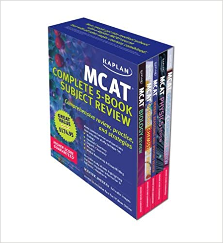Kaplan MCAT Review: Complete 5-Book Series (Kaplan MCAT