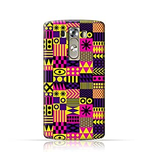 LG G3 TPU Silicone Case with Seamless Fashion Trend Pattern Design, Multi Color - LGG312168