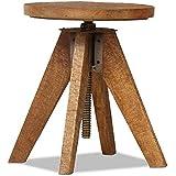 ikea drehhocker svenerik h henverstellbarer massivholz hocker sitzh he von 43 58cm amazon. Black Bedroom Furniture Sets. Home Design Ideas