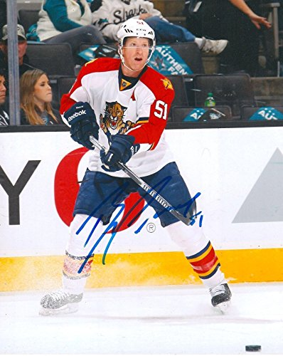 Brian Campbell Signed Picture - 8X10 w COA - Autographed NHL Photos