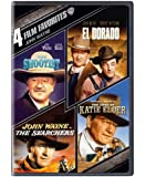 4 Film Favorites: John Wayne (The Searchers, The Shootist, El Dorado, The Sons of Katie Elder)