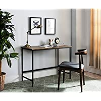 Kings Brand Furniture Contemporary Home & Office Computer Desk Workstation, Black / Gray