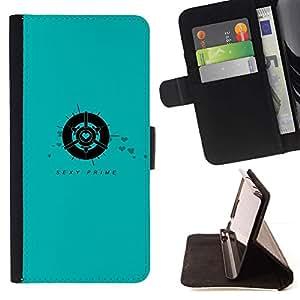 Momo Phone Case / Flip Funda de Cuero Case Cover - Primer atractivo;;;;;;;; - Motorola Moto E ( 1st Generation )