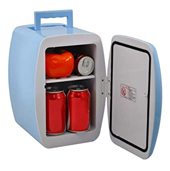 Refrigerador para autos, mini refrigerador portátil de 12 voltios ...