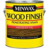 Minwax 71012000 Wood Finish Penetrating Stain, gallon, Dark Walnut