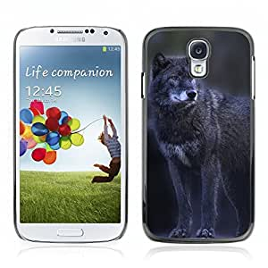 Super Stellar Slim PC Hard Case Cover Skin Armor Shell Protection // V0000960 Wolf Animal Pattern // Samsung Galaxy S4 i9500