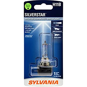SYLVANIA H11B SilverStar Halogen Headlight Bulb, (Contains 1 Bulb)