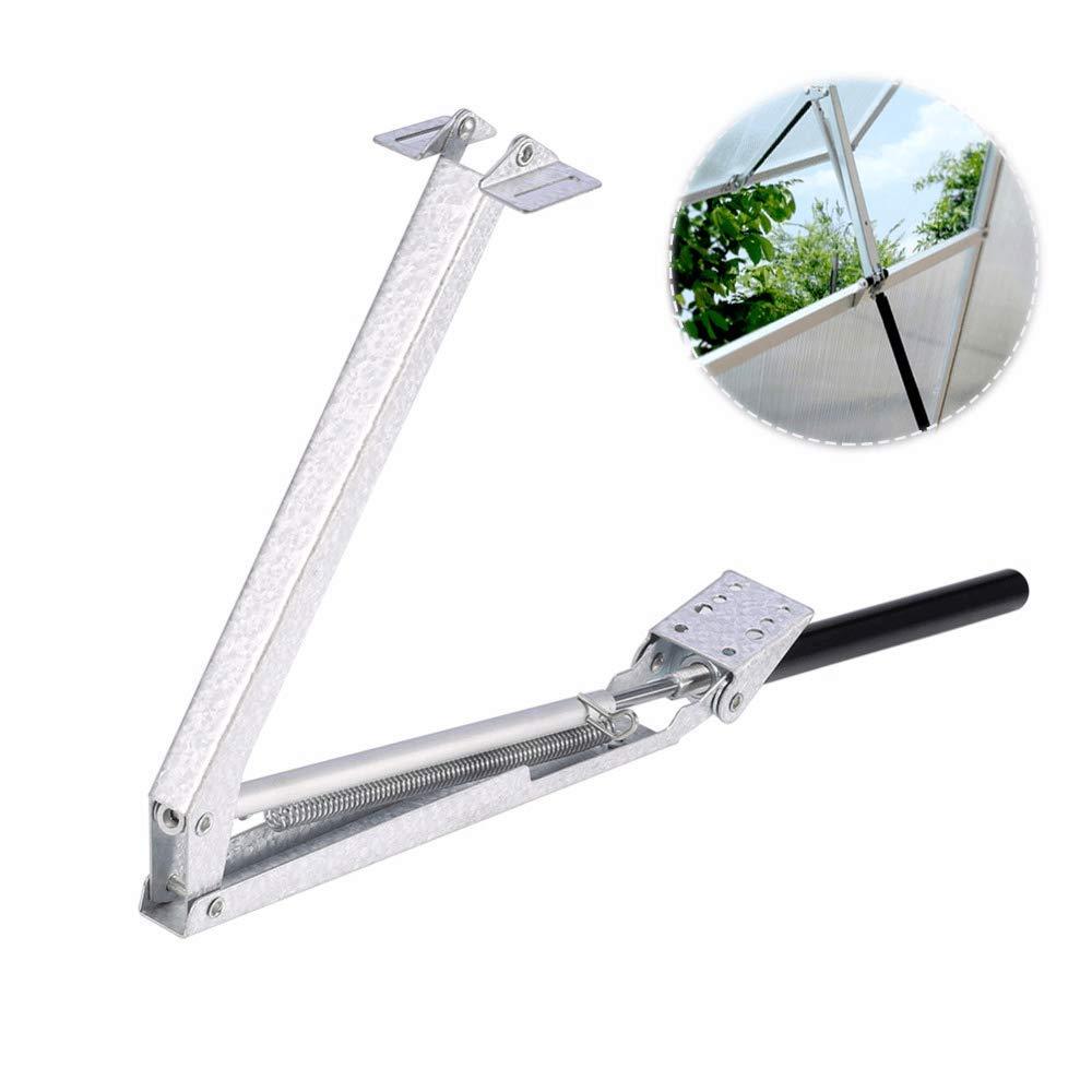 JINZHI Greenhouse Automatic Window Opener - Solar Powered -Corrosion Resistant - Vent 32.5cm Tools